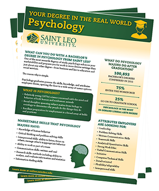 Your Degree in the Real World: Psychology
